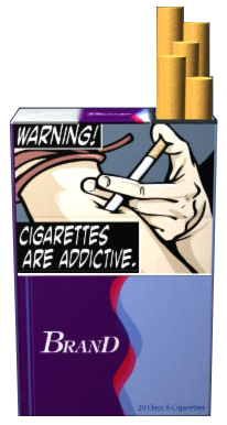 FDA proposes graphic cigarette labels