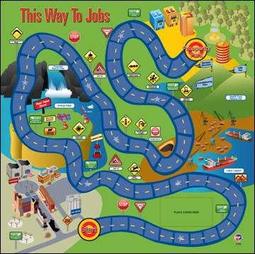 """Chamber of Commerce shows the """"way to jobs"""""""