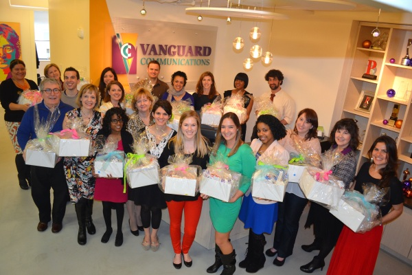 Vanguard gives to mothers in need