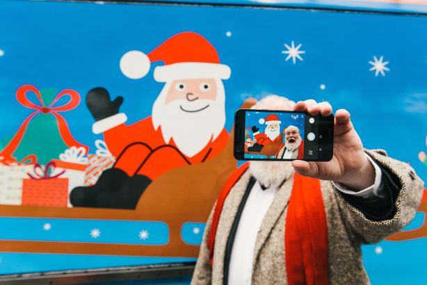 Special livery: Hope&Glory launches Virgin 'Christmas Trains' campaign
