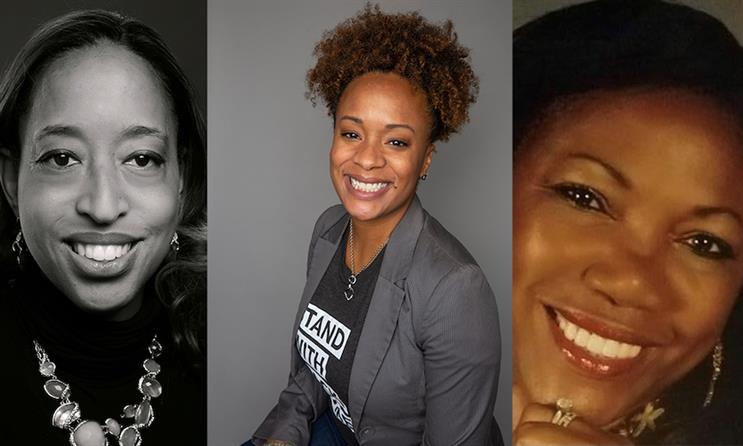 L-R: W2O's Abby Hayes, Karla Talley and Marcia Windross