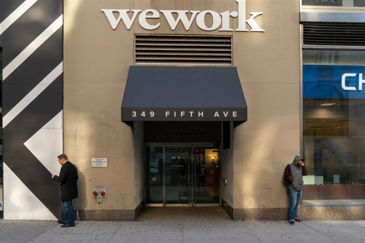 WeWork names Maurice Levy as interim chief marketing, comms officer
