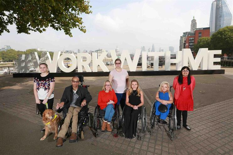 #WorkWithMe aims to get one million disabled people in work by 2020