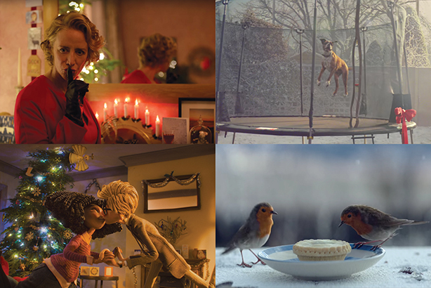 How will this year's Christmas campaigns differ from last year's efforts (above)?
