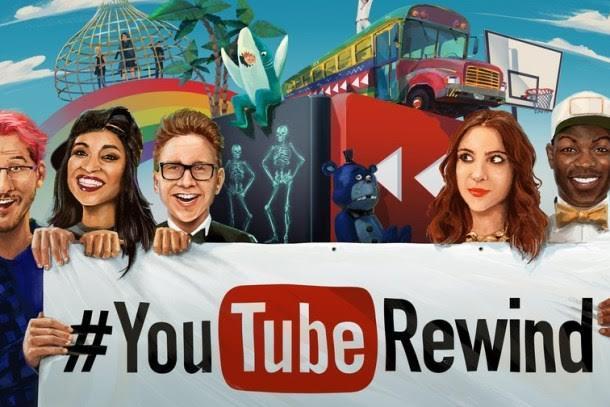 Digital influencers star in YouTube Rewind 2015