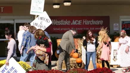 Ace Hardware ratchets up business with zombie campaign