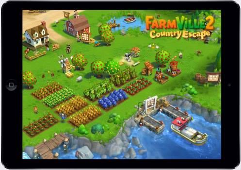 Zynga's FarmVille 2: Country Escape