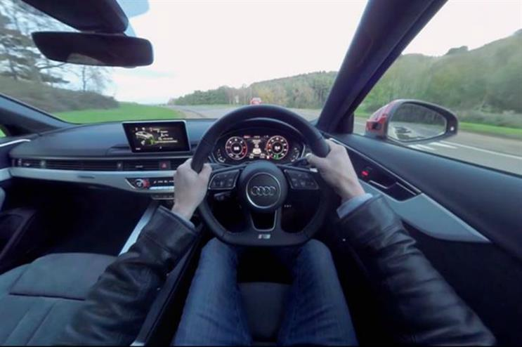Audi To Launch Virtual Reality Testdrive Experience - Audi test drive