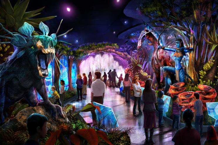Twentieth Century Fox is working with GES on a global touring exhibition of the Avatar film