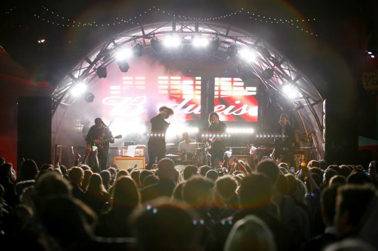 The AB InBev beer brand hosted nine live gigs across the UK in October