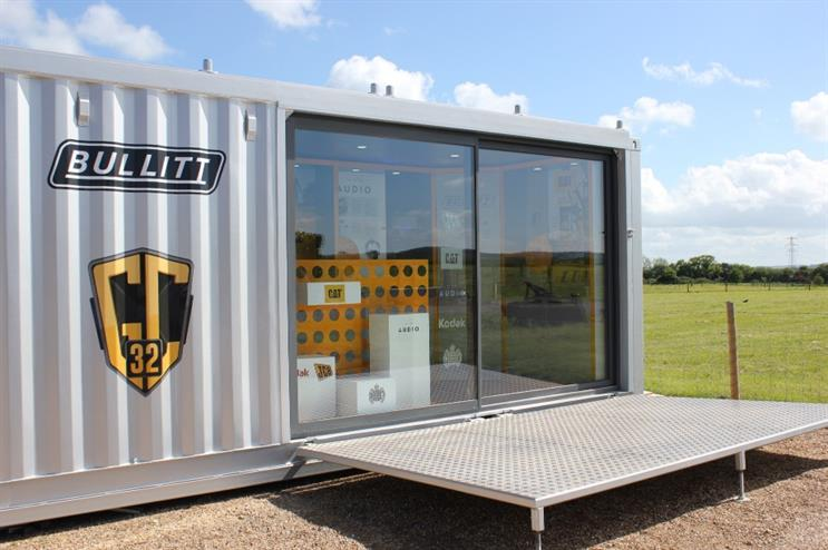 The pop-up houses products from brands including Kodak, Ted Baker and Caterpillar