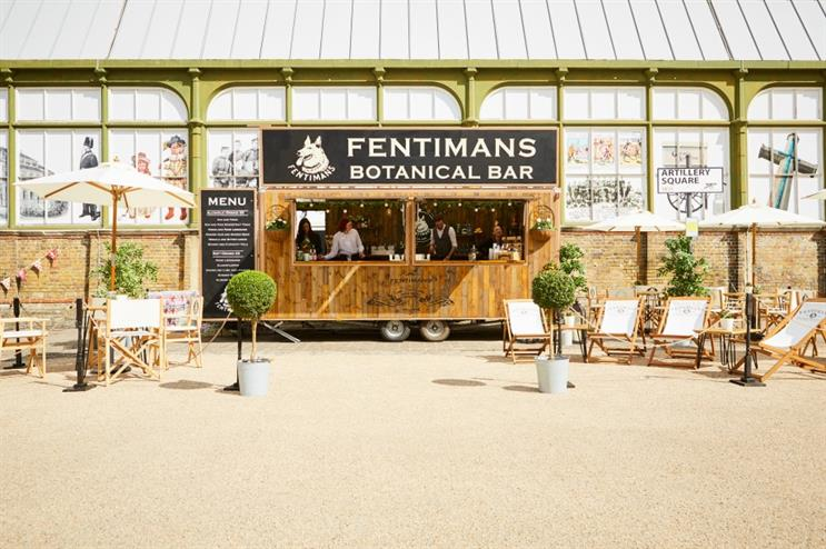 Fentimans to stage botanical pop-up bar tour