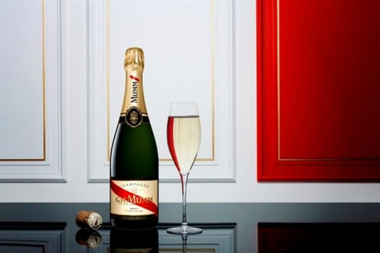 G.H. Mumm is hosting a pop-up bar as well as champagne tastings in Bath