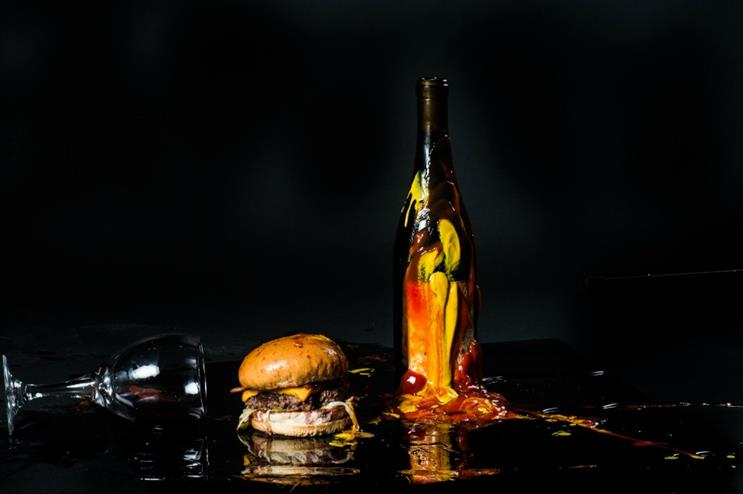 The humble hamburger goes posh at Lucky Chip Burgers & Wine (Image: Tom Bowles)