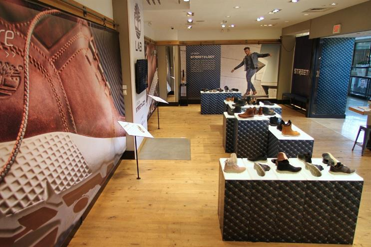 Global: Timberland opens concept store in Pennsylvania