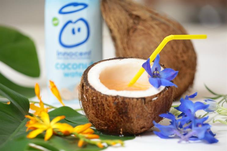 The pop-up will promote the brand's new Coconut Water offering