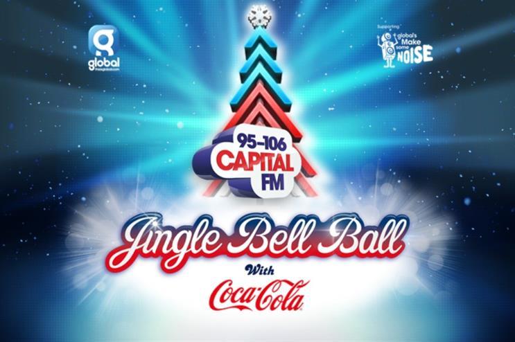 coke jingle bell ball
