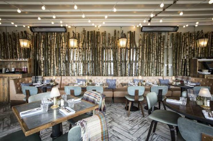 Selfridges forest-themed restaurant is open throughout winter