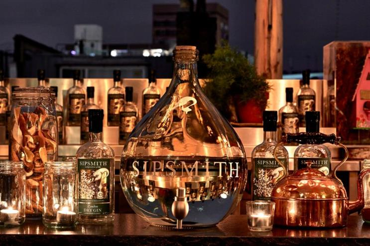 Sipsmith: serving hot gin for winter season