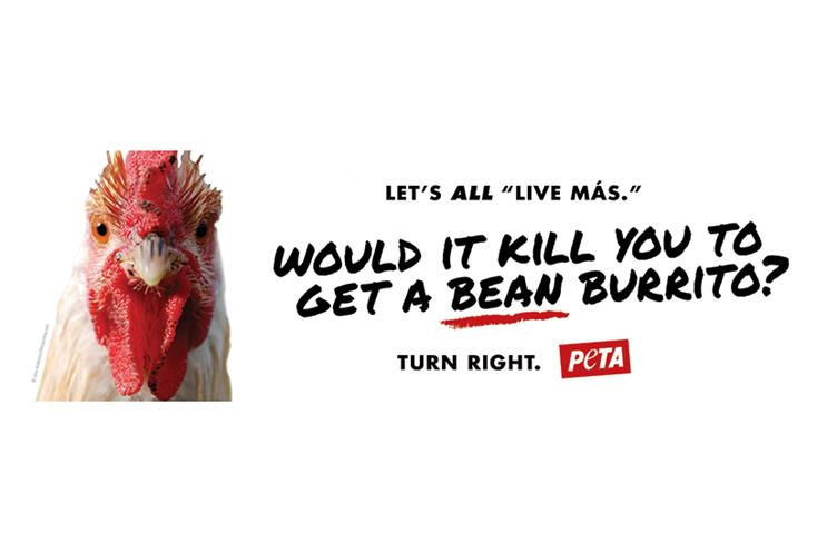 Why PETA is promoting Taco Bell in its latest advertising
