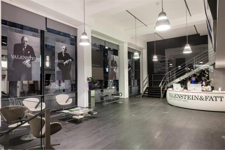 Grey London changes name to Valenstein & Fatt to promote diversity and tolerance
