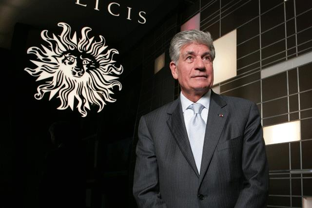 Outgoing chief executive Maurice Lévy