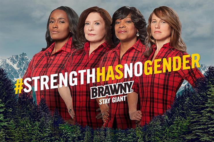 Brawny women wear iconic plaid in #StrengthHasNoGender campaign