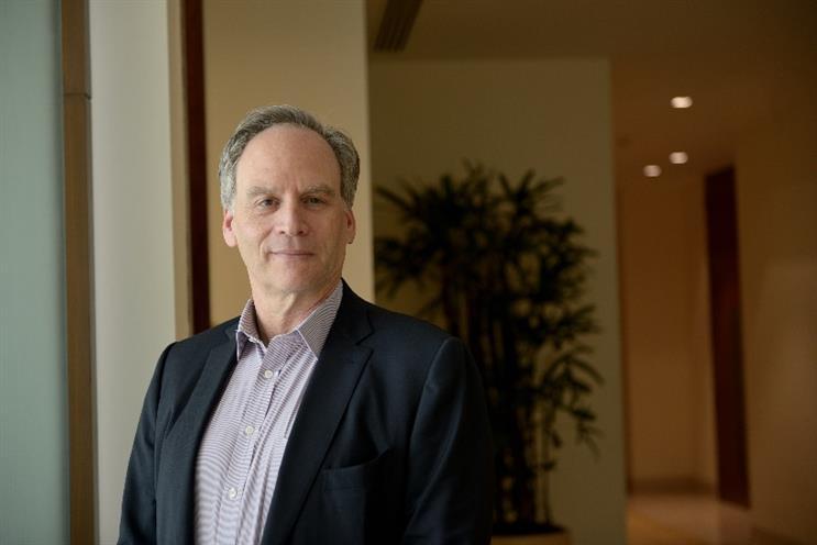 Chairman and chief executive officer of McCann Worldgroup, Harris Diamond.