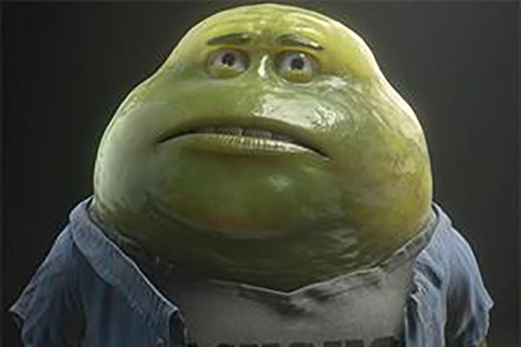 McCann's facelift for Mucinex's Mr. Mucus mascot earned it MegaRed and Airborne, client RB said.