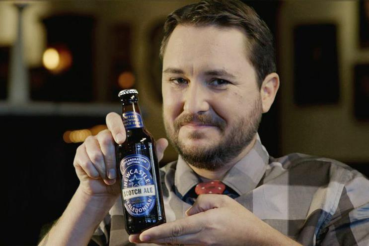Wil Wheaton pitches Newcastle Scotch Ale
