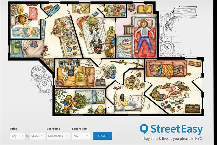 Ad for StreetEasy by GSP