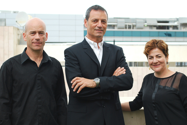 Tzur Golan, Alon Hochdorf and Anat Ben-Natan.