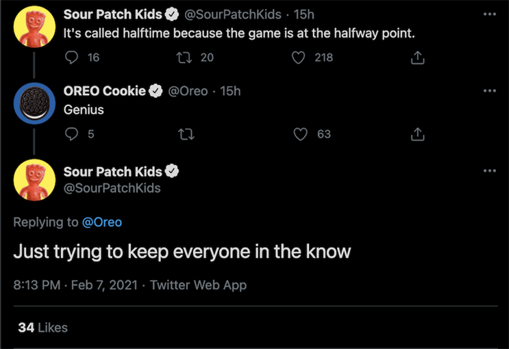 Brands react to each other's Super Bowl ads