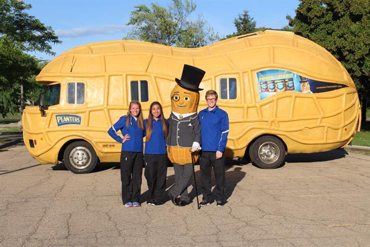 Inside Mr. Peanut's 'NUTmobile' Instagram account