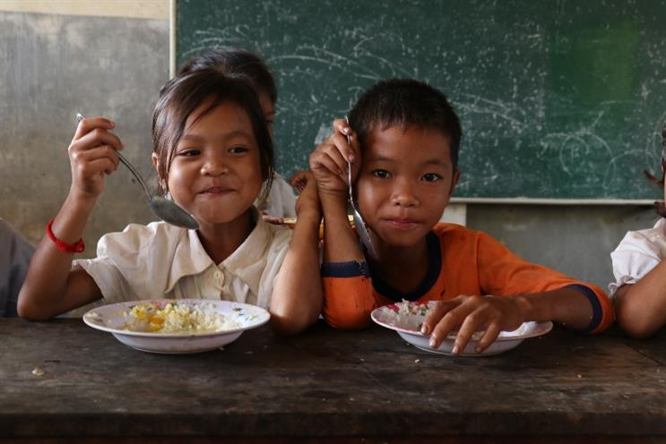 The U.N.'s World Food Program turns to global cinemas to help end hunger