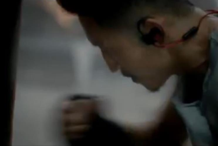 """Beats by Dre """"Nothing Stops Zou"""" by R/GA."""
