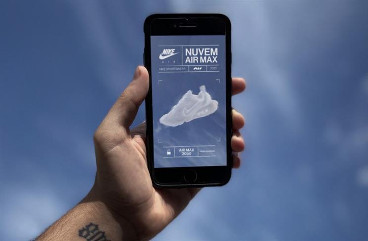 AKQA and Nike turn sky into canvas for creativity with Air Max AR drive