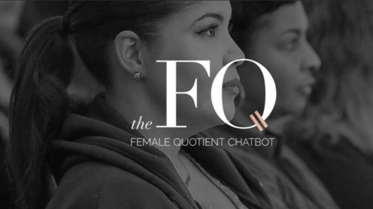 Deutsch, The Female Quotient create female empowerment bot
