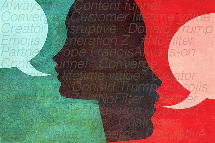 From content funnel to Pope Francis: A guide to the buzzwords of #AWXII