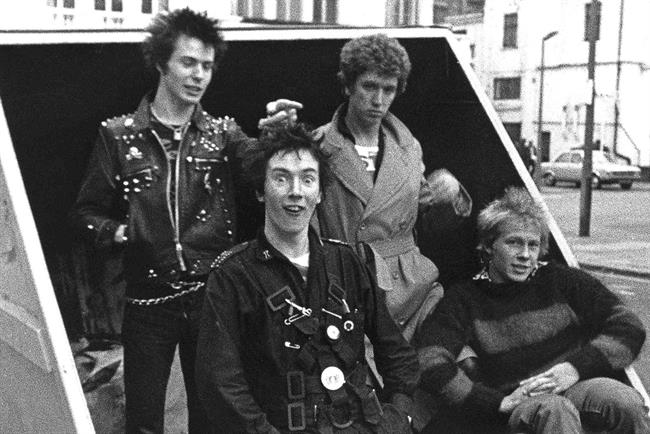 Sex pistols rock case studies