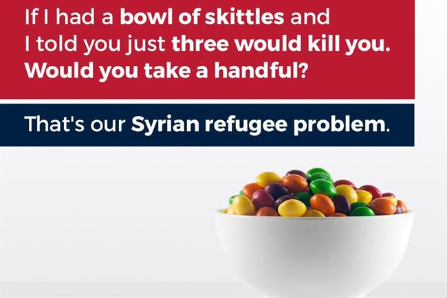 Is this Skittles statement the best corporate response to the Trump campaign yet?