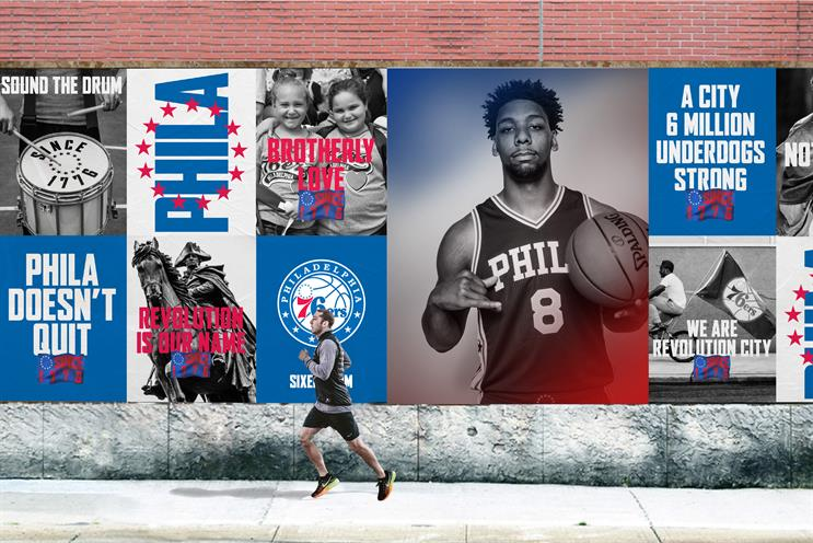 How Mother helped the 76ers revolutionize their brand ed257bd73