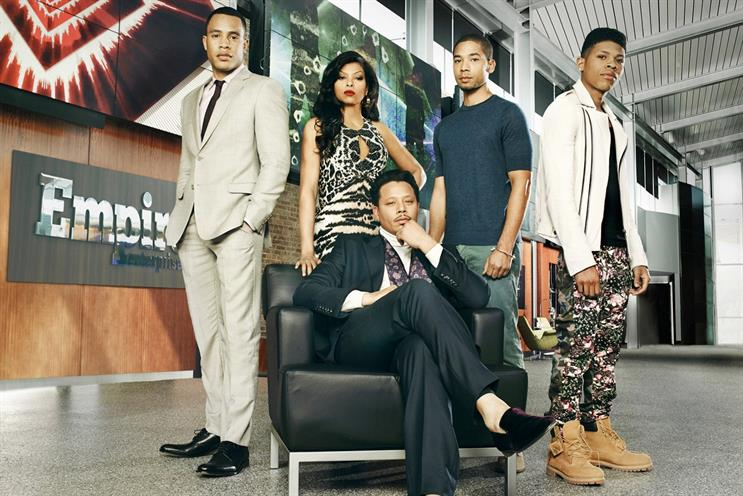 "Fox's series ""Empire"" launches second season."