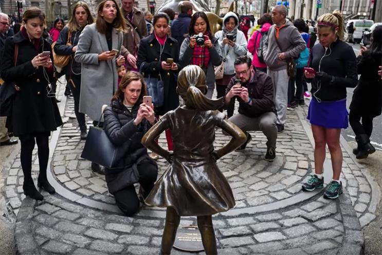 Why the Fearless Girl should make marketers nervous