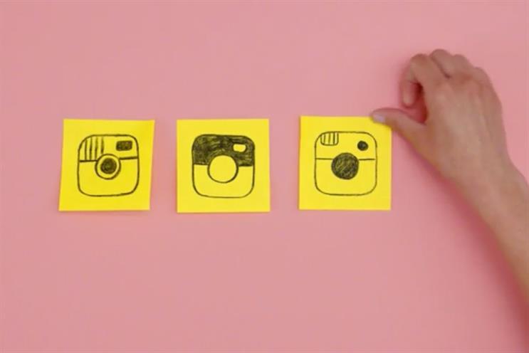 Instagram's colorful new logo gets slammed on Twitter