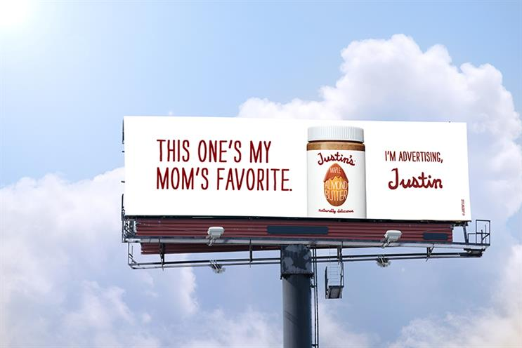 Justin's Nut Butter goes national with a cheeky campaign