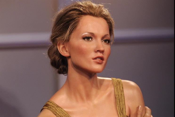 Model Kate Moss.