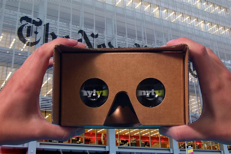 NYT lays out plans for its VR future