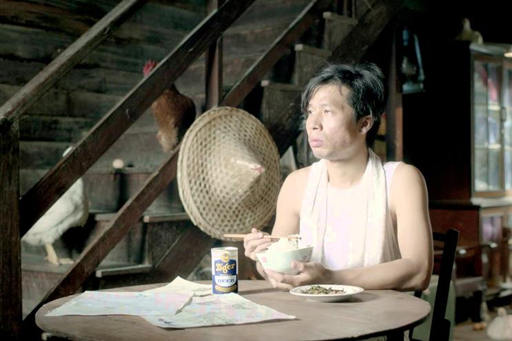 """Tiger Beer """"Who Invented Chicken Rice?"""" by BBDO Singapore."""