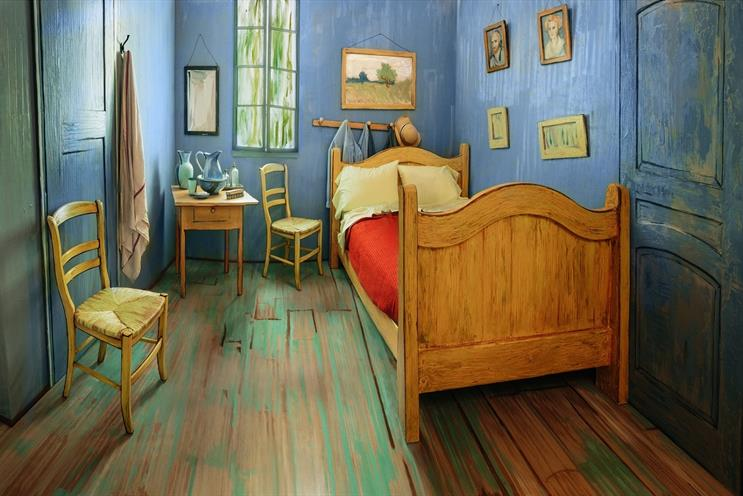 Life imitates art in Van Gogh Airbnb posting from Art Institute of Chicago